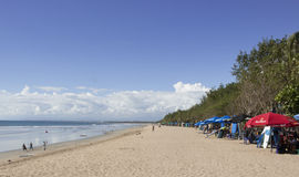 kuta de plage de bali Images libres de droits