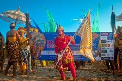 Kuta karneval Arkivbilder