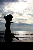 Kuta-Leute stockfoto