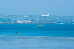 Kuta-Strand, Bali, Indonesien, Südostasien Lizenzfreie Stockfotos