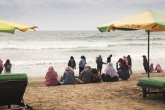 Kuta strand i Bali, Indonesien arkivfoton