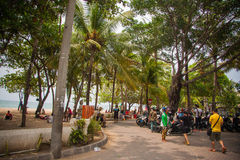 Kuta streets Royalty Free Stock Photos