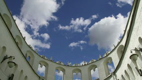 Kutafia bridgehead tower, Moscow Kremlin,  Russia stock footage