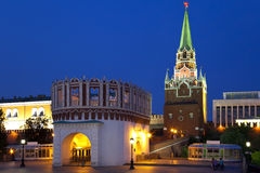 Kutafiya and Troitskaya Tower. Royalty Free Stock Photography