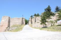 Kutahya castle. Old castle from kutahya turkey Royalty Free Stock Image