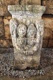 A family tombstone. Kutahya,Turkey - June 04 2017; a family tombstone in Aizanoi stock photography