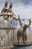 Kutaisi-Brunnen Stockfotografie