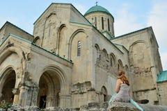 Kutaisi, cattedrale Georgia di Bograti Immagini Stock