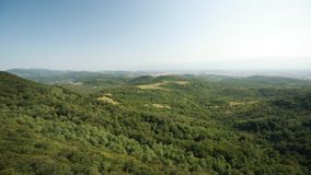 Kutaisi, Georgia Панорама запаса Sataplia положения Ландшафт ЛЕТА видеоматериал