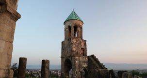 Kutaisi, Georgia Старые стены собора Bagrati Место всемирного наследия Unesco Известный ориентир ориентир, шедевр  сток-видео