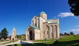 Bagrati Cathedral in the city of Kutaisi, Georgia royalty free stock image