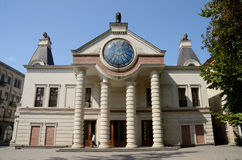 KUTAISI, GEORGIA - 5 SETTEMBRE 2014: Vista dell'opera Hous di Kutaisi Fotografia Stock