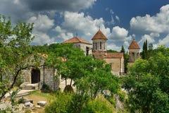 Kutaisi, monastero Georgia di Motsameta Immagine Stock Libera da Diritti