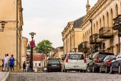 Kutaisi - rua velha da cidade Imagem de Stock