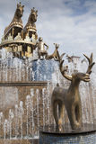 Kutaisi springbrunn arkivbild