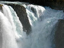 Kutamarakan river waterfall Royalty Free Stock Image