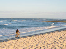 Kutani beach in Dar es Salaam, Tanzania royalty free stock photo