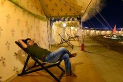 Kutch Festival of Gujarat Royalty Free Stock Photography