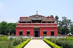 Kuthibari, family mansion of Rabindranath Tagore, Kushtia, Bangladesh royalty free stock photo