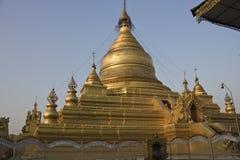 Kutho Daw Pagoga στο Μιανμάρ Στοκ Εικόνα