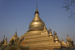 Kutho Daw Pagoga nel Myanmar Fotografia Stock Libera da Diritti
