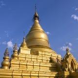 Kuthodaw塔-曼德勒-缅甸 免版税库存图片