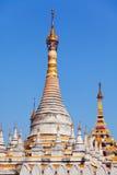 Kuthodaw塔,缅甸 库存照片