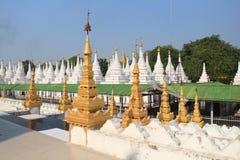 Kuthodaw Pagoda Royalty Free Stock Photos