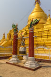 Kuthodaw Pagoda Royalty Free Stock Image