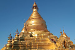 Kuthodaw pagoda in Mandalay Royalty Free Stock Photo