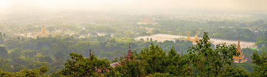 Kuthodaw Pagoda is the World's Biggest Book (Stone Library). Man Royalty Free Stock Photo