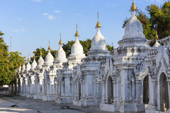 Kuthodaw Paya Stock Image
