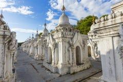 Kuthodaw Paya Royalty Free Stock Photography