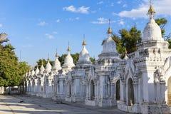 Kuthodaw Paya Stock Photography