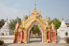 Kuthodaw temple Royalty Free Stock Images