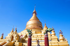 Kuthodaw Temple in Mandalay, Myanmar Stock Photos