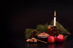 Kutia Еда традиционного рождества сладостная в Украине, Беларуси и Польше праздник Стоковое Изображение RF