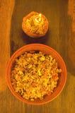 Kutia  traditional Christmas dish in Ukraine. Royalty Free Stock Photos