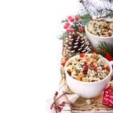Kutia. Traditional Christmas sweet meal Royalty Free Stock Photo