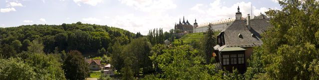 Kutná hora panorama Stock Photography