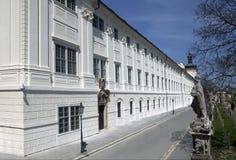 kutna hora κολλεγίων jesuit Στοκ εικόνες με δικαίωμα ελεύθερης χρήσης