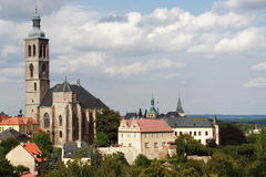 Kutna Hora. Touristic city Kutna Hora - Czech republic Royalty Free Stock Photo