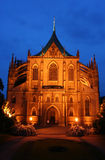 Kutna Hora cathedral Royalty Free Stock Photo