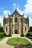 Kutna Hora - church St.Barbora Royalty Free Stock Photography