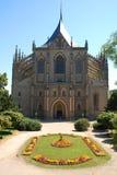 Kutna Hora Kathedrale Stockbild