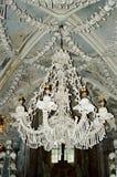 Kutna Hora Knochen-und Schädel Leuchter lizenzfreies stockbild