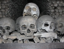 Kutna Hora Ossuary Royalty Free Stock Images