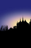 Kutna Hora Prague. Picture of Kutna Hora Prague skyline Royalty Free Stock Photos