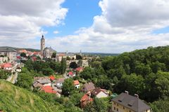 Kutna Hora - the town in the Central Czech Republic with fine architecture and interesting sights royalty free stock image