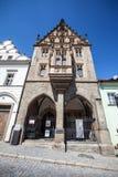 Het Huis van de steen in Kutna Hora, Tsjechische Republiek Stock Afbeelding